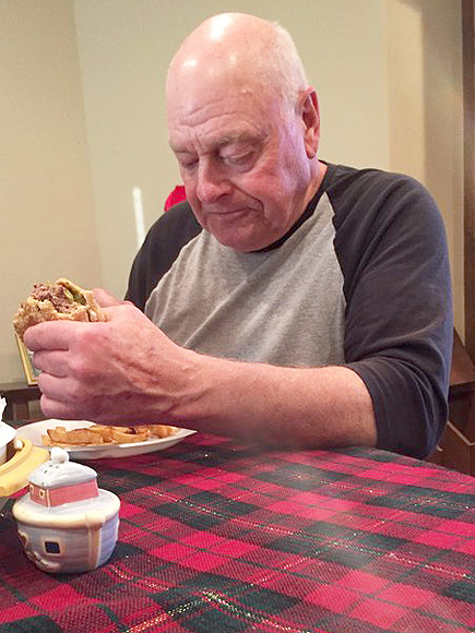 Granddaughters Photo Of Sad Grandfather Breaks The