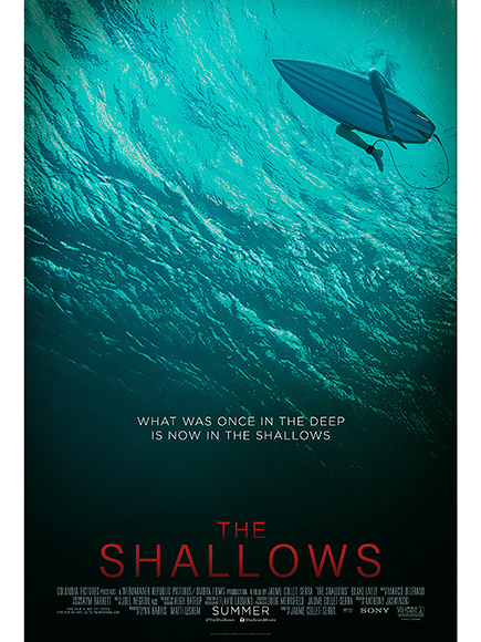 WATCH: Blake Lively Comes Face to Face with a Great White Shark in the First Trailer for The Shallows| Movie News, Blake Lively