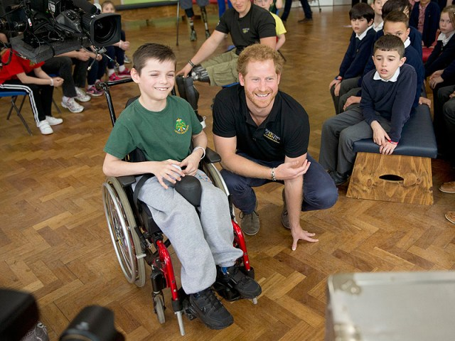 Bold 9-Year-Old Student Asks Prince Harry: 'Are You Ever Going to Be King?'  The British Royals, The Royals, Prince Harry