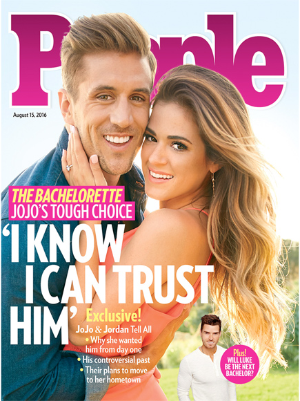 You Might Be Surprised Which Guy JoJo Fletcher and Jordan Rodgers Want as the Next Bachelor| The Bachelor, The Bachelorette, People Picks, TV News, JoJo Fletcher