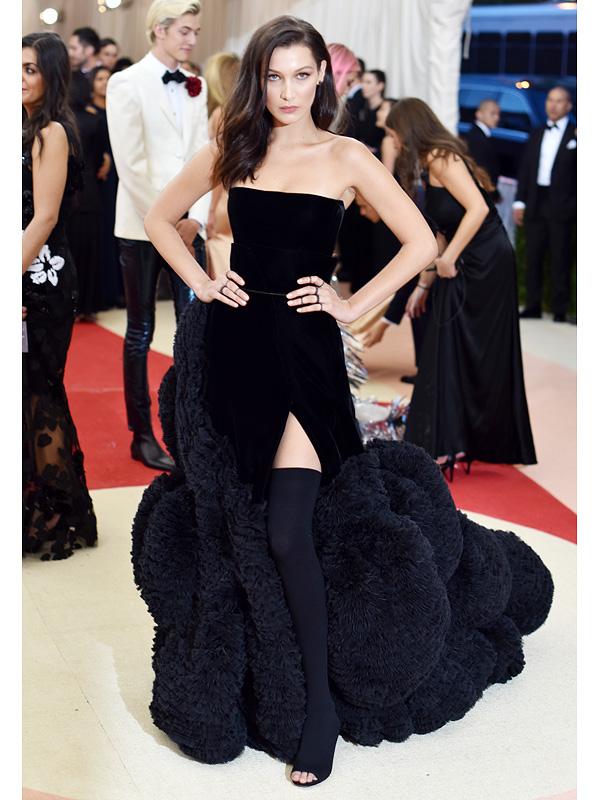 Bella Hadid Met Gala 2016