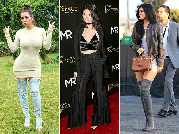 Kim Kardashian, Kendall Jenner, Kylie Jenner 2016