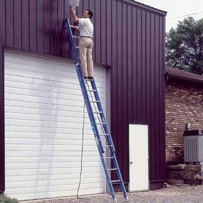 Pick appropriate ladders