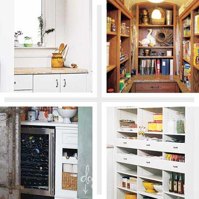 pantries with storage