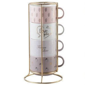 now bone china ceramic stacking coffee