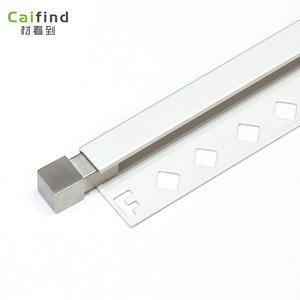 square edge aluminium tile trim