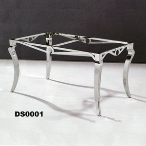 import stainless steel table frame for