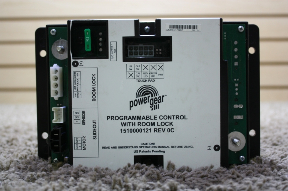 RV Components RV POWER GEAR PROGRAMMABLE CONTROL WITH ROOM
