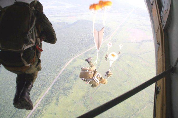 фото прыжков с парашютом десантников модный дизайн