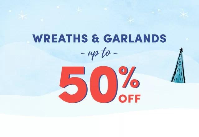 Wreath & Garland Clearance