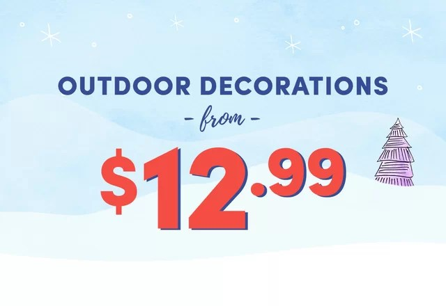 Outdoor Decoration Clearance