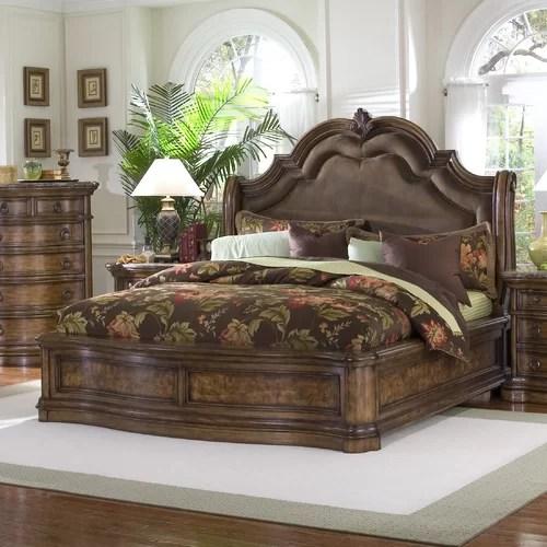 Pulaski San Mateo Panel Bed Amp Reviews Wayfair