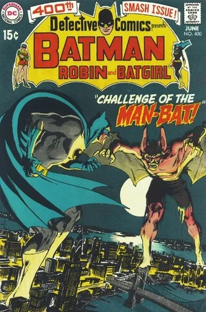 Cover for Detective Comics #400 (1970)