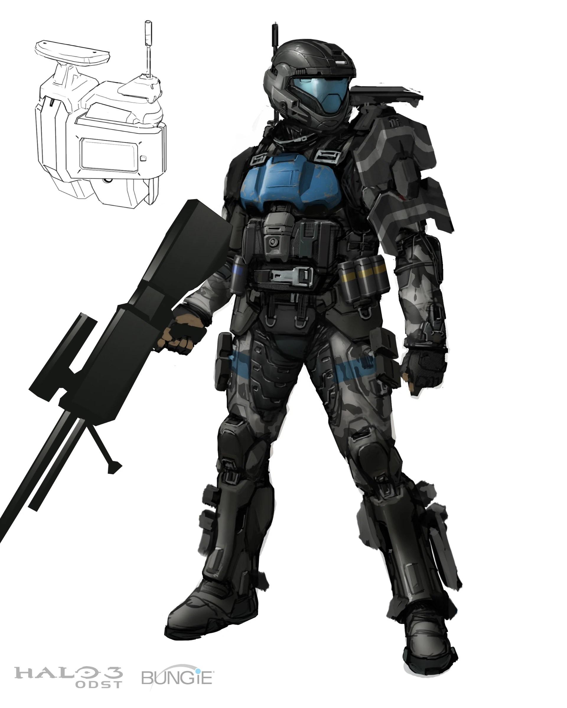 odst battle armor