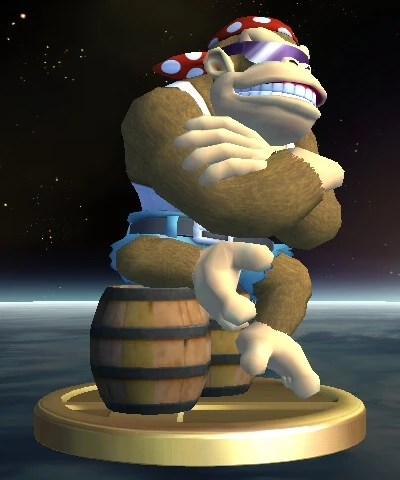 Image Funky Kong Trophyjpg Smashpedia The Super