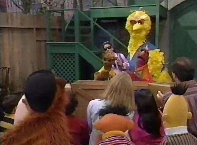 Sesame Street Harvey Monster