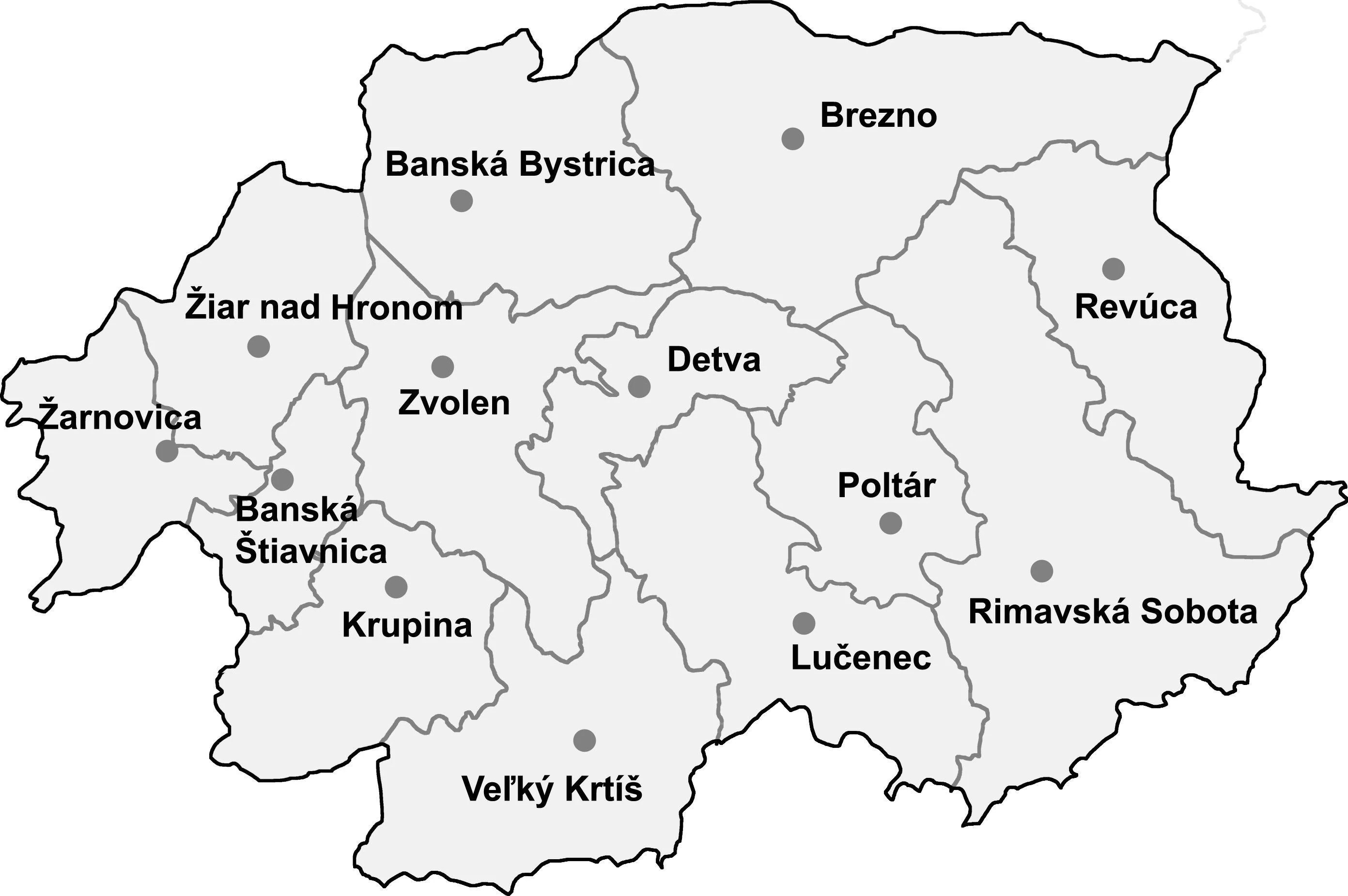 File Location Map Slovakia Banska Bystrica