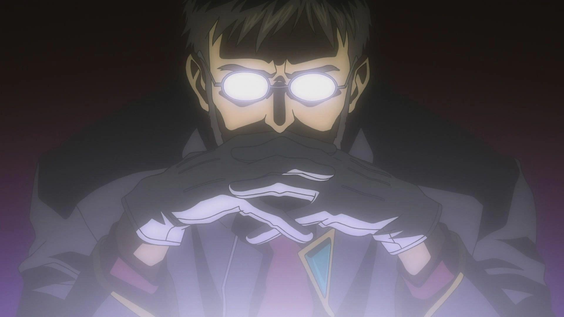 Gendo Ikari, Evangelion