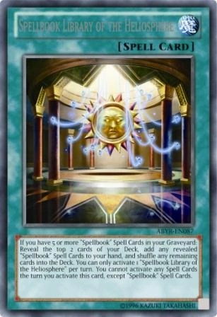 Spellbook Library Of The Heliosphere Yu Gi Oh Wikia