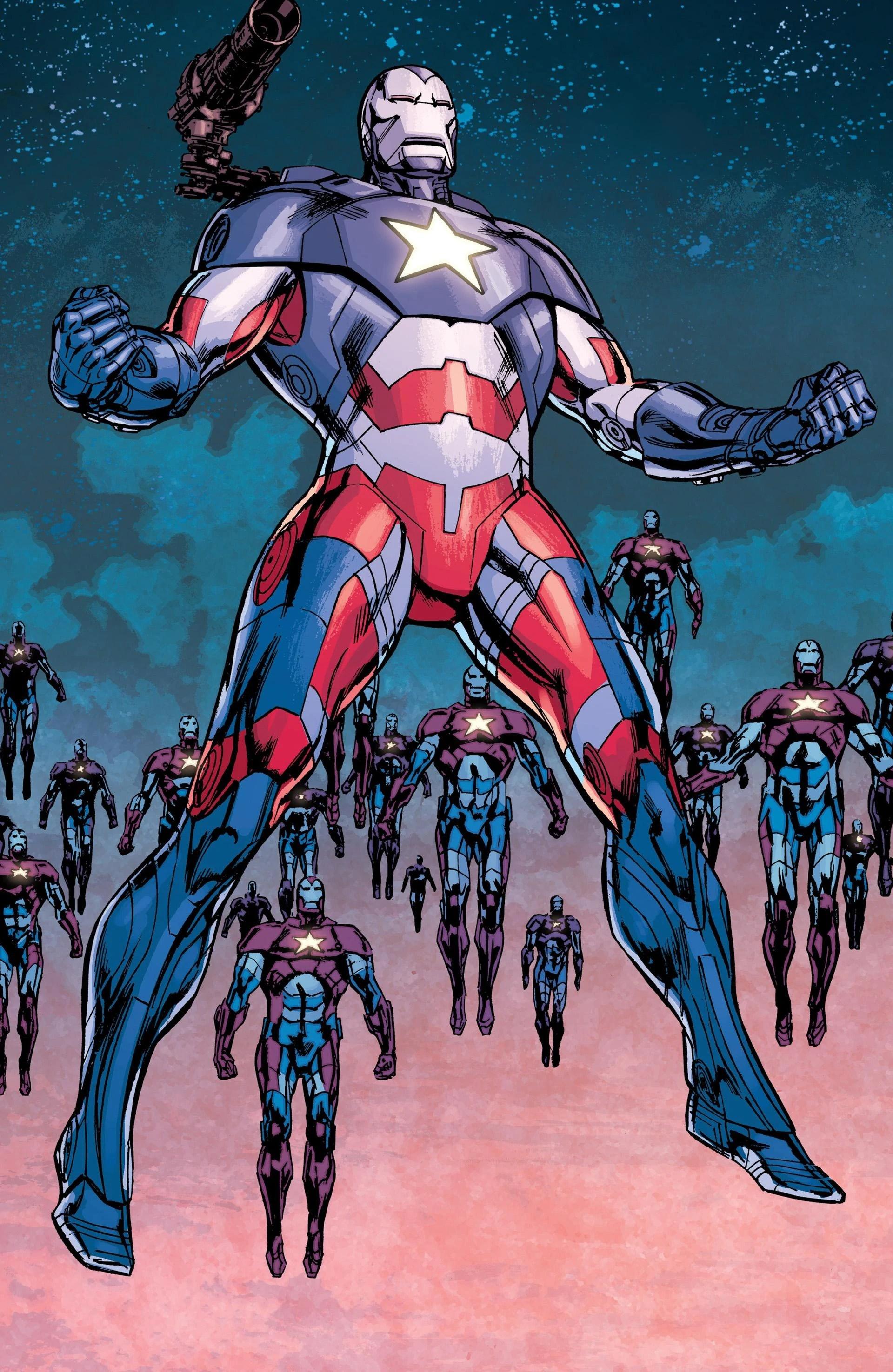 Iron Patriot Marvel Comics Database