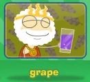 Fav juice grape answer
