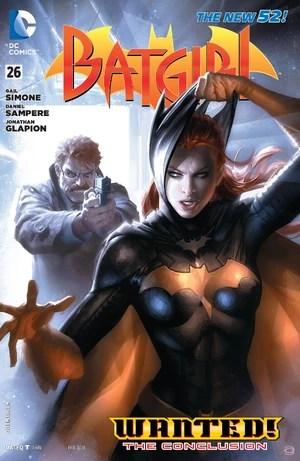 Cover for Batgirl #26 (2014)