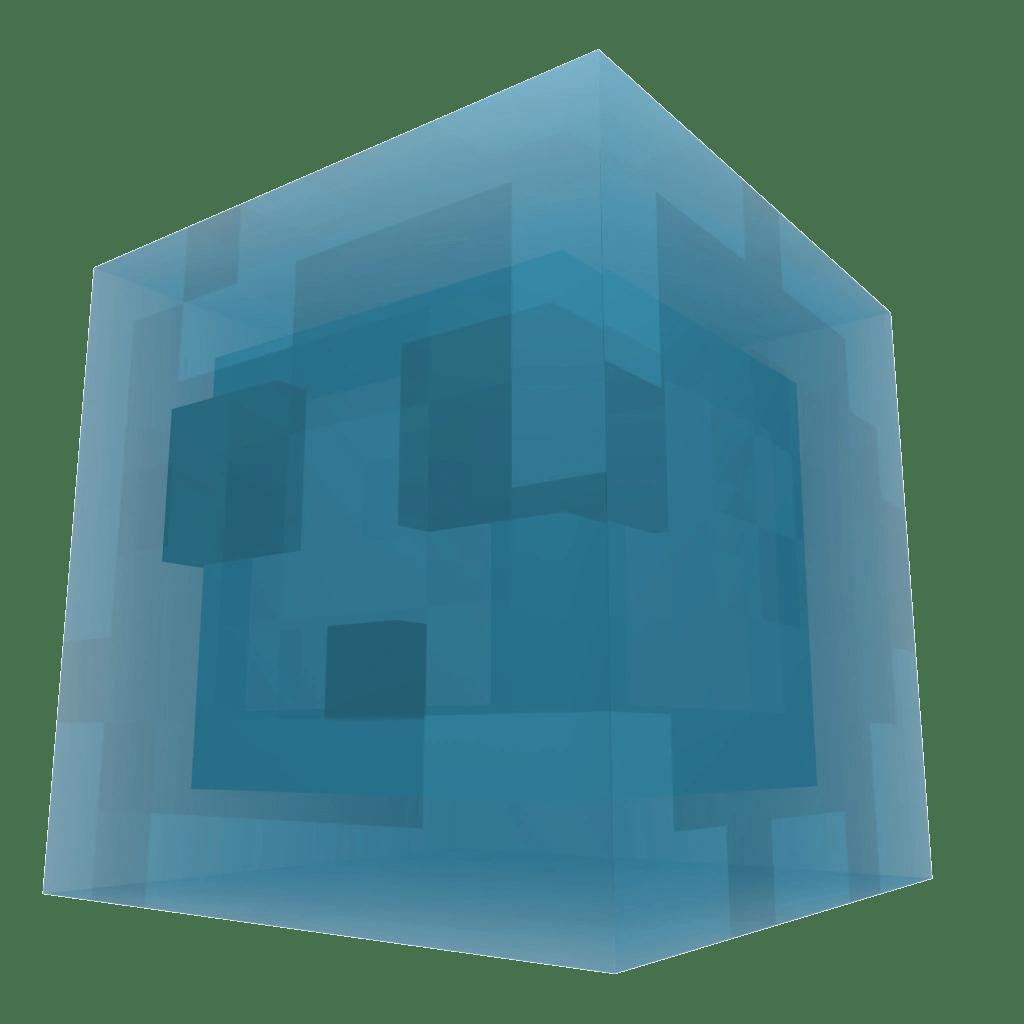 los slimes azules son variaciones de los slimes con ciertas
