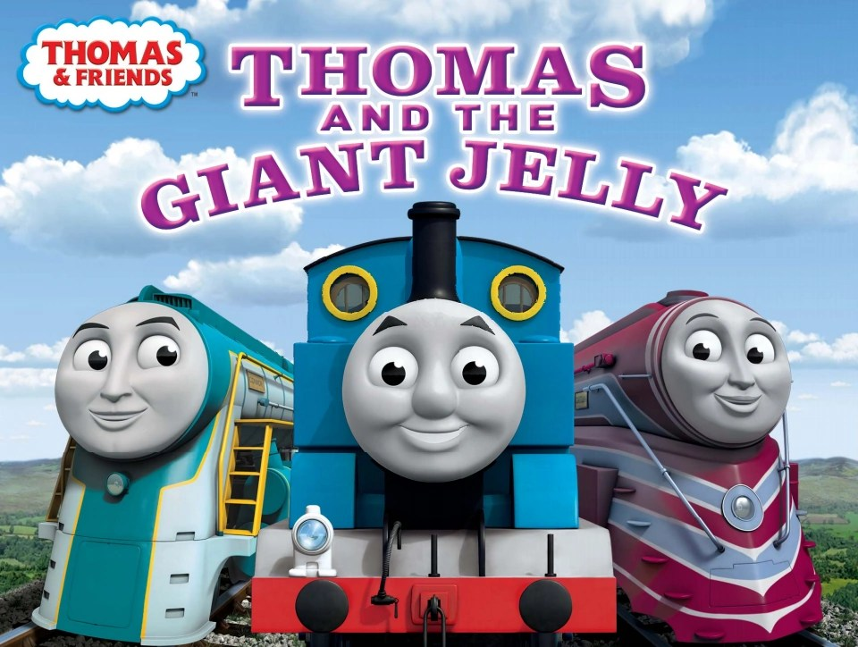 Thomas And The Giant Jelly Thomas The Tank Engine Wikia