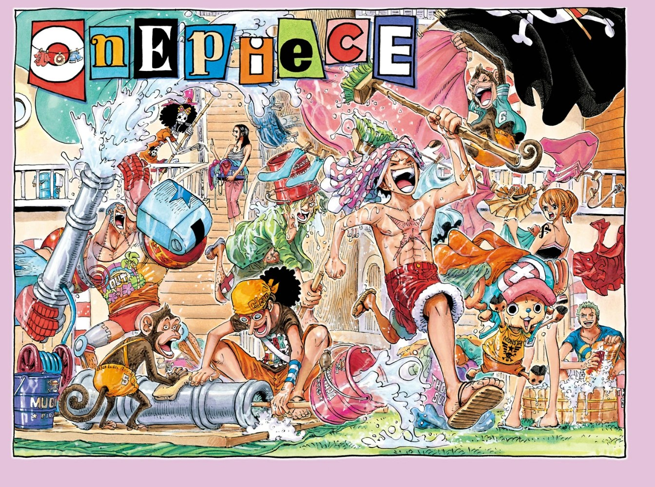 Chapter 745 The One Piece Wiki Manga Anime Pirates
