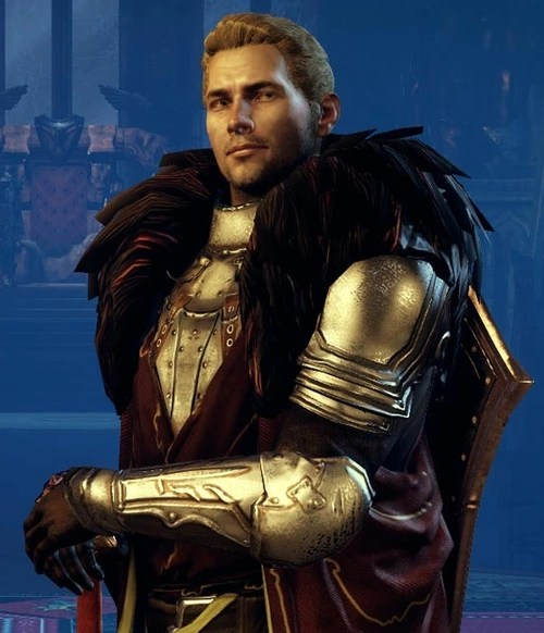Not chosen for resemblance to Alistair, I promise.