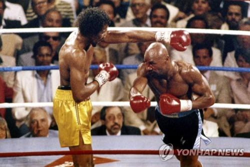 1985 년 Hegler vs. Hearns