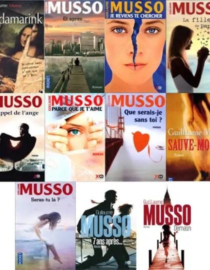 Guillaume Musso - Bibliographie 2001 à 2013