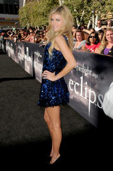 Marisa Miller showing off her angelic body in small dress at The Twilight Saga: Eclipse Premiere in LA - Hot Celebs Home