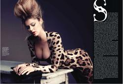 Doutzen Kroes cleavagy in Flare Canada - September 2010 - Hot Celebs Home