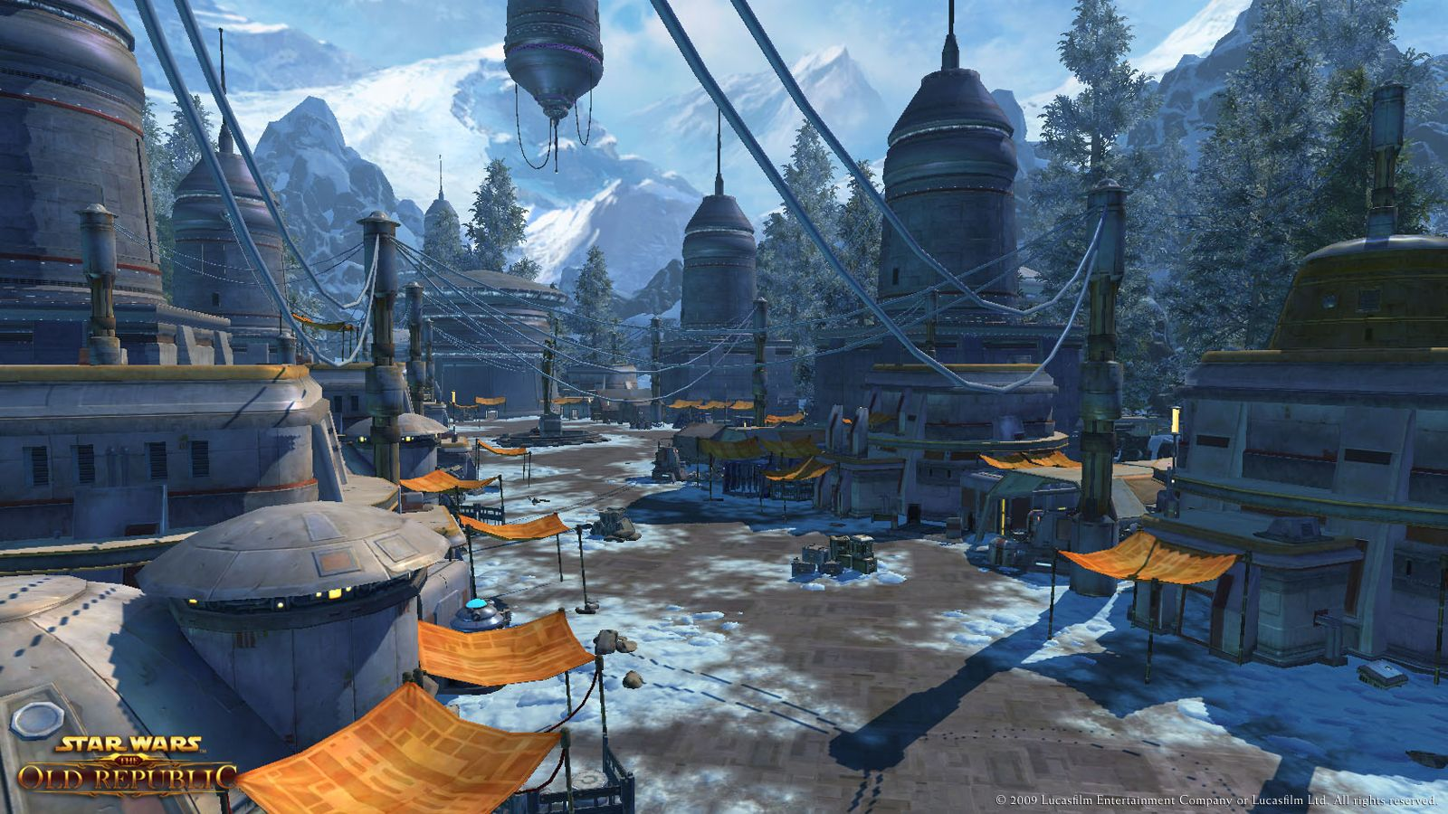 Star Wars The Old Republic Alderaan Planet Screenshots Gaming Phanatic