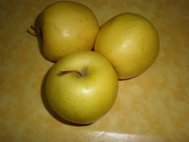 Manzanas amarillas