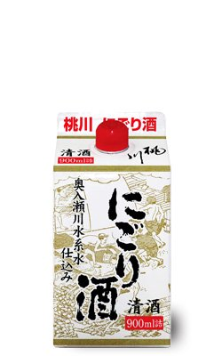 桃川 にごり酒パック900ml