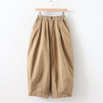CIRCUS PANTS CHINO CLOTH GARMENT DYED #KHAKI BEIGE [A11709] _ HARVESTY | ハーベスティ