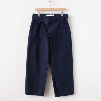 SEEDING PANTS - PEASANT CLOTH #NAVY [TR-46-201504] _ ASEEDONCLOUD   アシードンクラウド