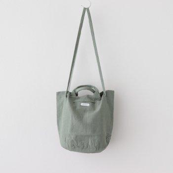DRAWSTRING BAG #OLIVE [no.4181] _ R&D.M.Co- OLDMAN'S TAILOR | オールドマンズテーラー
