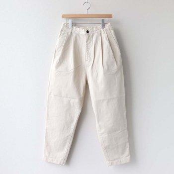 EASY EGG PANTS CHINO CLOTH #IVORY [A11913] _ HARVESTY   ハーベスティ