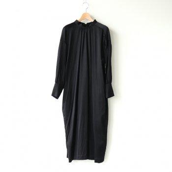 夜一夜のBACK RIBBON DRESS #ブラック [TLF-121-op009-H] _ the last flower of the afternoon   ザラストフラワーオブジアフタヌーン