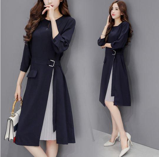 韓国 ワンピース ドレス プリーツ フォーマル お呼ばれ 卒業式