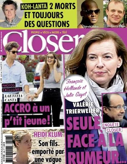 Closer N°408 du 06 au 12 Avril 2013