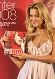 Petra Nemcova shows cleavage and legs in small dress as she presents the new Otto's catalogue in Hamburg, Germany