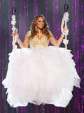 Mariah Carey cleavagy as she performs concert on her current North American tour in Atlanta - Hot Celebs Home