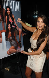 Kim and Kourtney Kardashian attends LA Confidential Magazine's Fall Fashion Issue Celebration - Hot Celebs Home