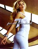 Doutzen Kroes in body-hugging jeans advert in April 2009 German Vogue - Hot Celebs Home