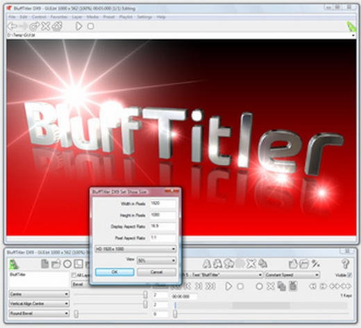 Outerspace Software BluffTitler DX9 iTV