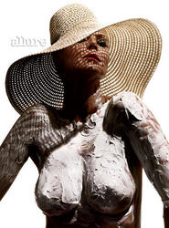 Heidi Klum topless in Allure magazine - Hot Celebs Home